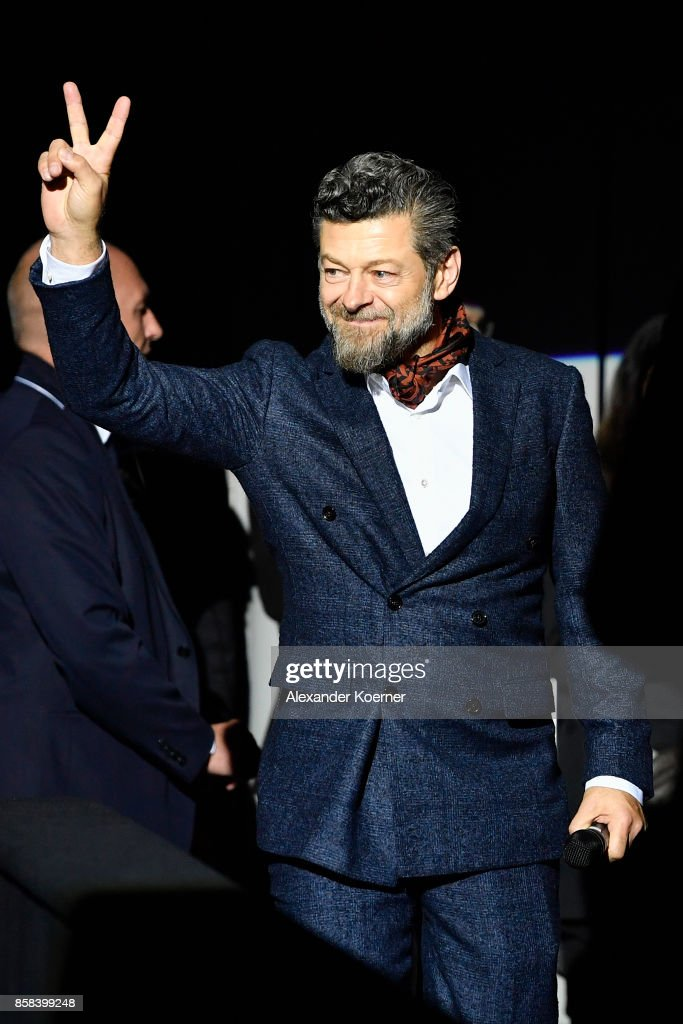 Director Andy Serkis attends the 'Breathe' premiere at the 13th Zurich Film Festival on October 6, 2017 in Zurich, Switzerland. The Zurich Film Festival 2017 will take place from September 28 until October 8.