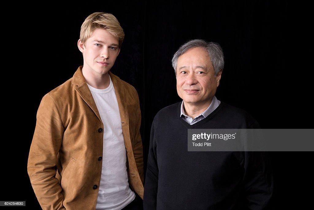Ang Lee and Joe Alwyn, USA Today, November 7, 2016
