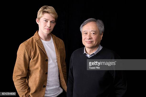 Director Ang Lee and actor Joe Alwyn are photographed for USA Today on October 15 2016 in New York City PUBLISHED IMAGE