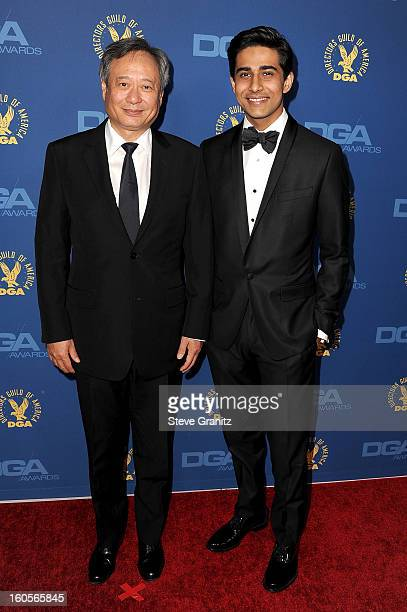 Director Ang Lee and actor Suraj Sharma attend the 65th Annual Directors Guild Of America Awards at The Ray Dolby Ballroom at Hollywood Highland...