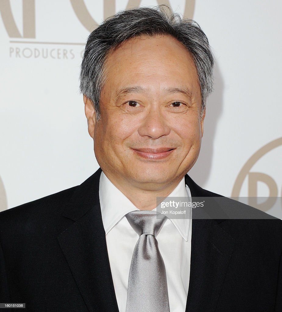 Director Ang Lee arrives at the 24th Annual Producers Guild Awards at The Beverly Hilton Hotel on January 26, 2013 in Beverly Hills, California.