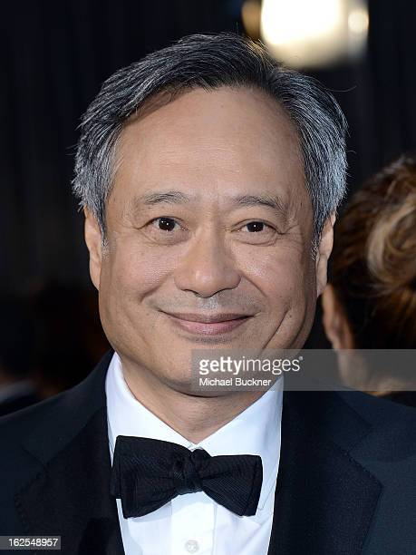 Director Ang Lee arrives at the Oscars at Hollywood Highland Center on February 24 2013 in Hollywood California