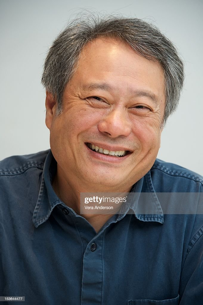 Director <a gi-track='captionPersonalityLinkClicked' href=/galleries/search?phrase=Ang+Lee&family=editorial&specificpeople=215104 ng-click='$event.stopPropagation()'>Ang Lee</a> at the 'Life Of Pi' Press Conference at the Four Seasons Hotel on October 6, 2012 in Beverly Hills, California.
