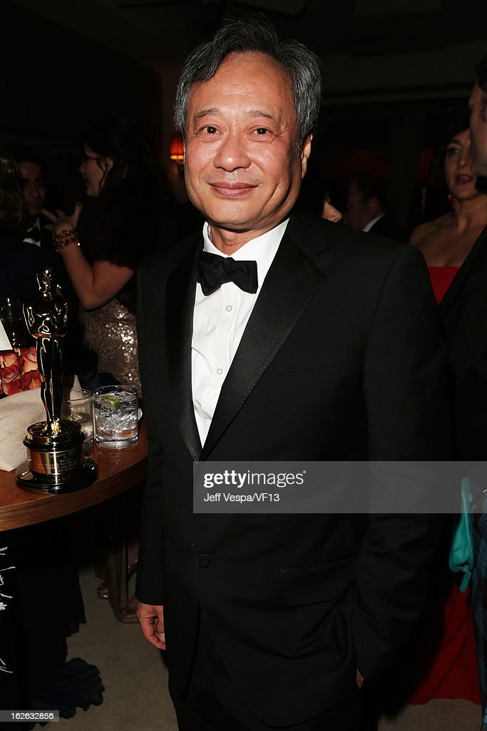 Director Ang Lee attends the 2013 Vanity Fair Oscar Party hosted by Graydon Carter at Sunset Tower on February 24, 2013 in West Hollywood, California.