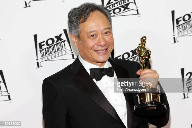 Director Ang Lee attends the 20th Century Fox And Fox Searchlight Pictures' Academy Award Nominees Celebration at Lure on February 24 2013 in...