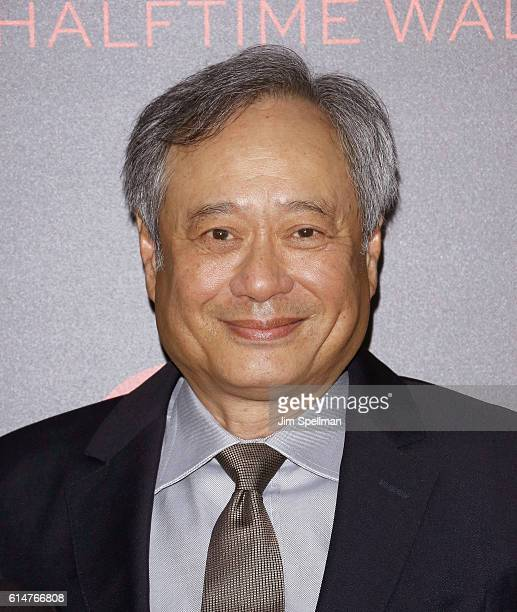 Director Ang Lee attends the 54th New York Film Festival 'Billy Lynn's Long Halftime Walk' screening at AMC Lincoln Square Theater on October 14 2016...