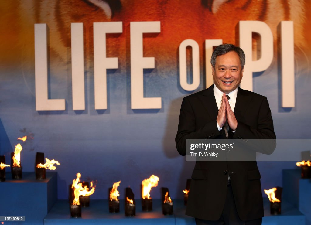 Director ang lee attends the uk premiere of 39 life of pi at for Life of pi family