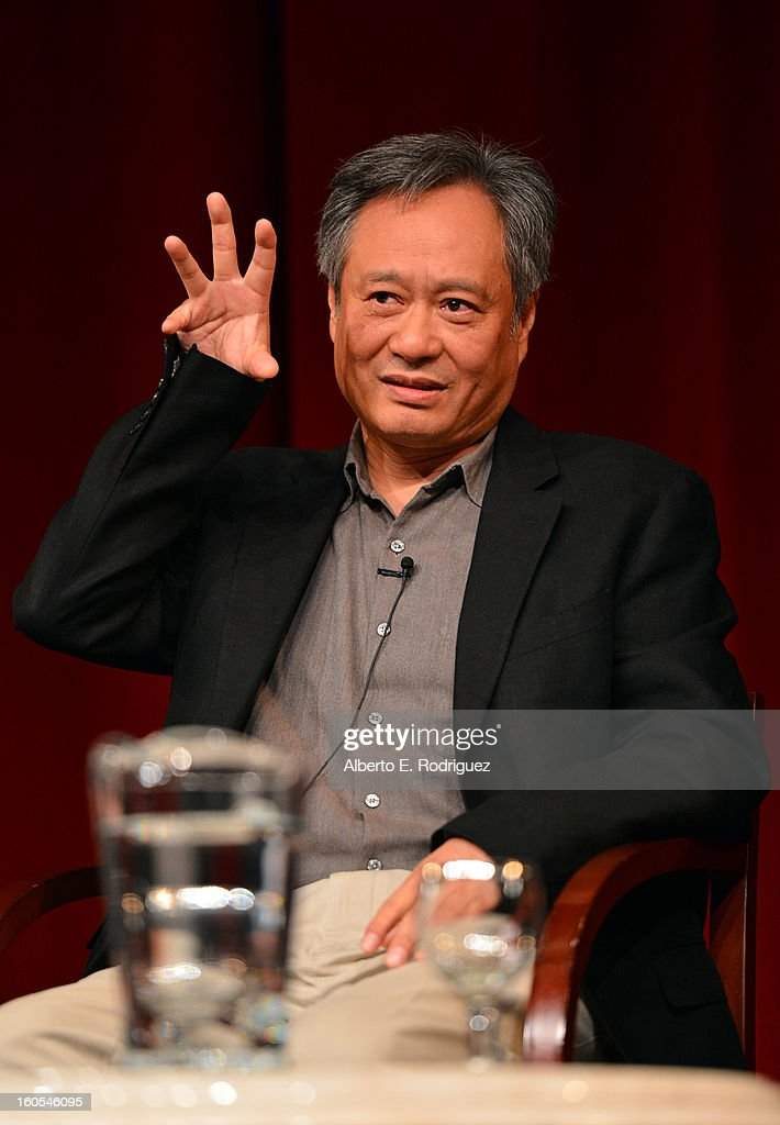 Director Ang Lee speaks onstage at the 65th Annual Directors Guild of America Awards Feature Film Symposium held at the DGA on February 2, 2013 in Los Angeles, California.