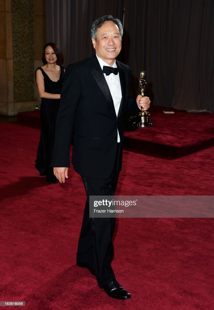 Director <a gi-track='captionPersonalityLinkClicked' href=/galleries/search?phrase=Ang+Lee&family=editorial&specificpeople=215104 ng-click='$event.stopPropagation()'>Ang Lee</a>, winner of Best Director for 'Life of Pi',' departs the Oscars at Hollywood & Highland Center on February 24, 2013 in Hollywood, California.