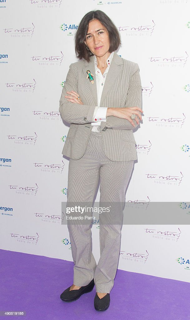 Director Angeles Gonzalez Sinde attends 'Tu rostro habla de ti' photocall at Press Palace on September 29 2015 in Madrid Spain