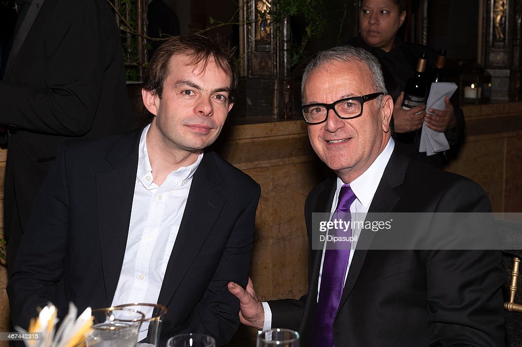 Director Angus Jackson and Brooklyn Academy of Music executive producer Joseph V Melillo attend the 2014 BAM Theater gala at Skylight One Hanson on...