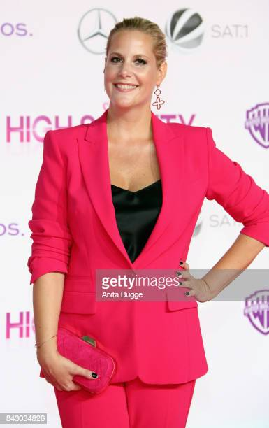 Director Anika Decker attends the 'High Society' Germany premiere at CineStar on September 5 2017 in Berlin Germany