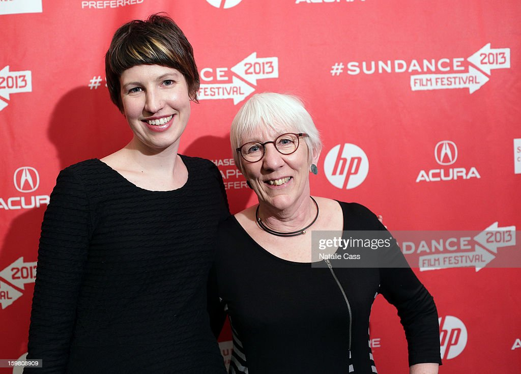 Director Anna Cady (R) and animation director Em Cooper attend the '99% - The Occupy Wall Street Collaborative Film' premiere at Egyptian Theatre during the 2013 Sundance Film Festival on January 20, 2013 in Park City, Utah.