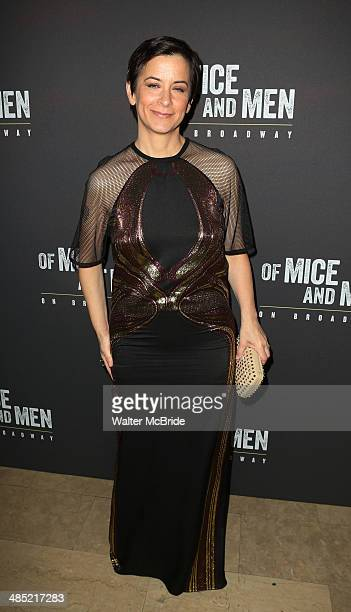 Director Anna D Shapiro attends the after party for the Broadway opening night for 'Of Mice and Men' at The Plaza Hotel on April 16 2014 in New York...
