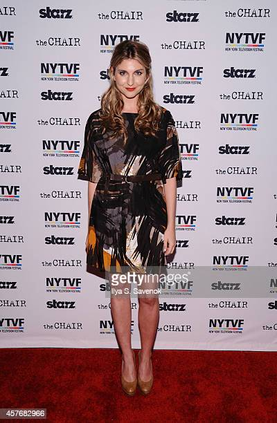 Director Anna Martemucci attends 'The Chair' series screening during the 2014 New York Television Festival at SVA Theater on October 22 2014 in New...