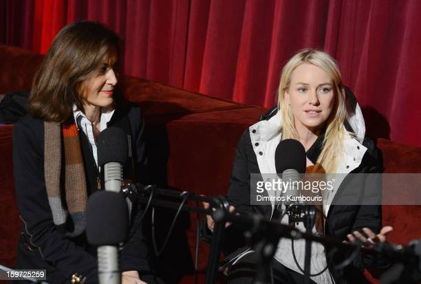 Director Anne Fontaine and actress Naomi Watts speak during Day 2 of Village At The Lift 2013 on January 19 2013 in Park City Utah