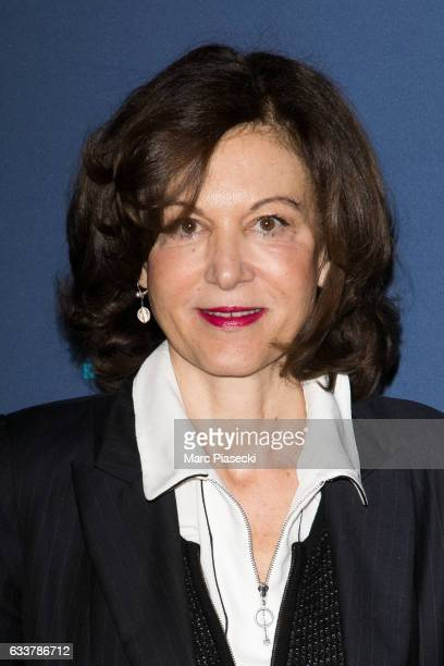 Director Anne Fontaine attends 'Cesars 2017 Nominee luncheon' at Le Fouquet's on February 4 2017 in Paris France