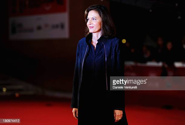 Director Anne Fontaine attends the 'Mon Pire Cauchemar' Premiere during the 6th International Rome Film Festival at Auditorium Parco Della Musica on...