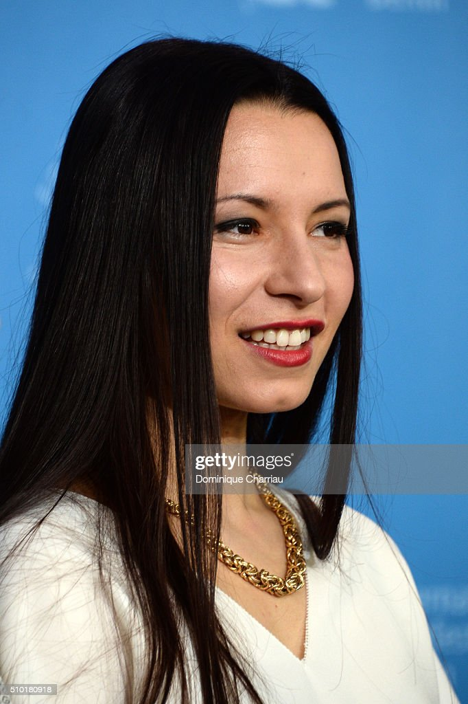 Director Anne Zohra Berrached attends the '24 Wochen' photo call during the 66th Berlinale International Film Festival Berlin at Grand Hyatt Hotel on February 14, 2016 in Berlin, Germany.