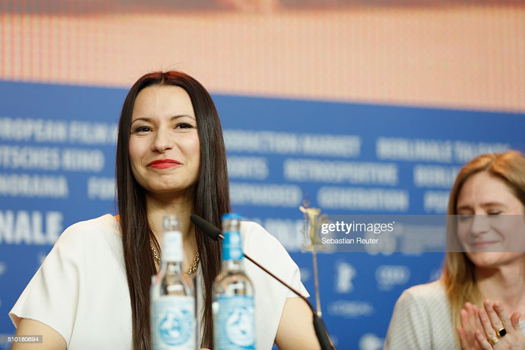 Director Anne Zohra Berrached attends the '24 Wochen' press conference during the 66th Berlinale International Film Festival Berlin at Grand Hyatt Hotel on February 14, 2016 in Berlin, Germany.