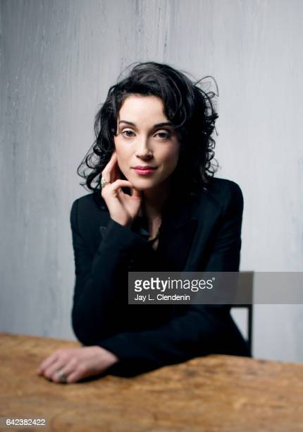 Director Annie Clark from the film XX is photographed at the 2017 Sundance Film Festival for Los Angeles Times on January 22 2017 in Park City Utah...