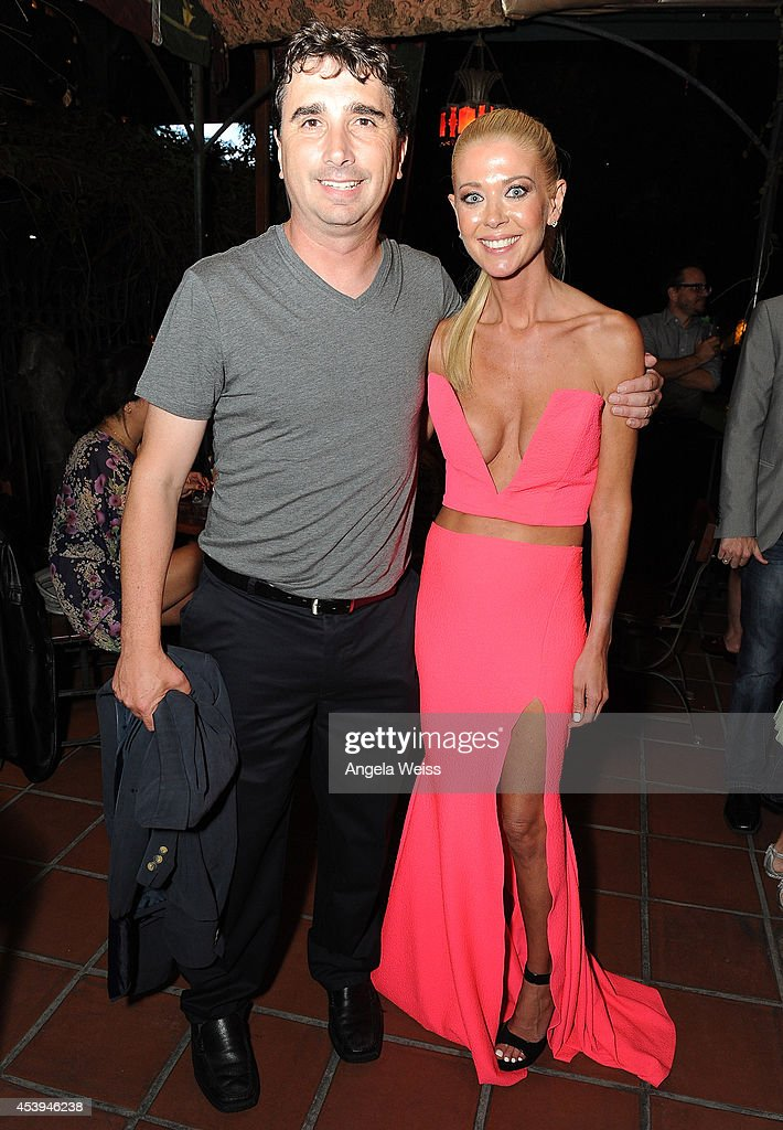 Director Anthony C. Ferrante and actress Tara Reid attend the premiere after party of The Asylum & Fathom Events' 'Sharknado 2: The Second One' at Figueroa Hotel on August 21, 2014 in Los Angeles, California.