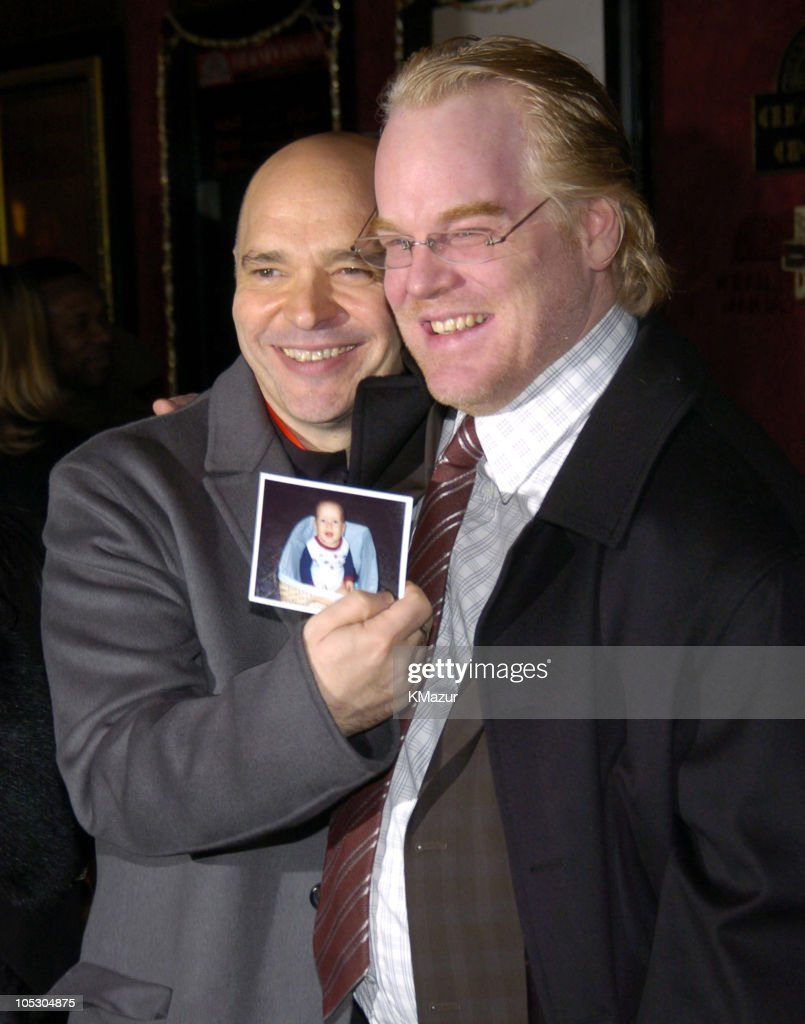 Director Anthony Minghella and Philip Seymour Hoffman