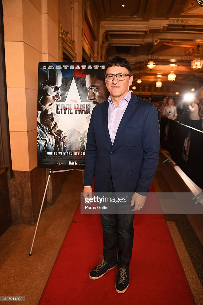 Director <a gi-track='captionPersonalityLinkClicked' href=/galleries/search?phrase=Anthony+Russo+-+Film+Director&family=editorial&specificpeople=4700486 ng-click='$event.stopPropagation()'>Anthony Russo</a> attends 'Captain America: Civil War' Atlanta cast & filmmakers screening at The Fox Theatre on May 1, 2016 in Atlanta, Georgia.