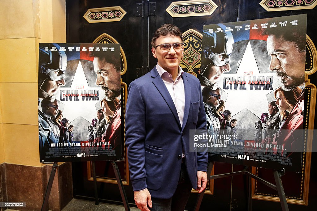 Director Anthony Russo attends 'Captain America: Civil War' Screening at the Fox Theatre on May 1, 2016 in Atlanta, Georgia.