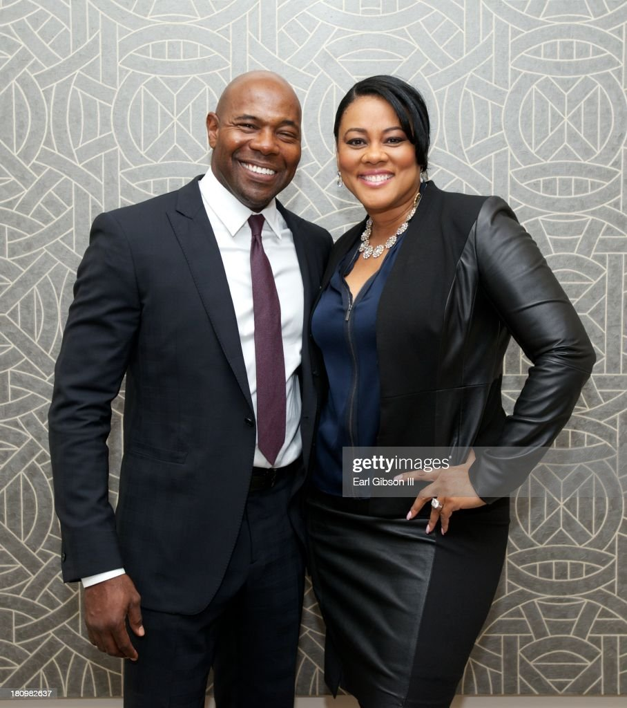 Director Antoine Fuqua and wife/actress Lela Rochon pose for a photo at the CBC Spouses 17th Annual Celebration of Leadership in the Fine Arts on Day...