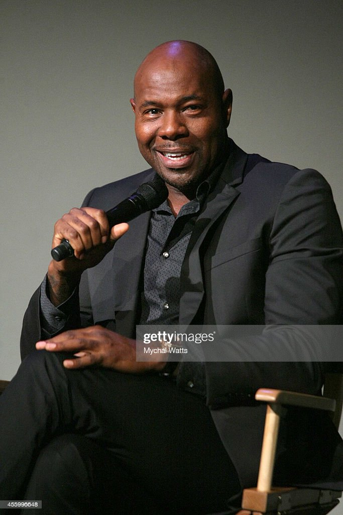 Director Antoine Fuqua attends Apple Store Soho Presents Meet the Filmmaker Antoine Fuqua 'The Equalizer' at Apple Store Soho on September 23 2014 in...