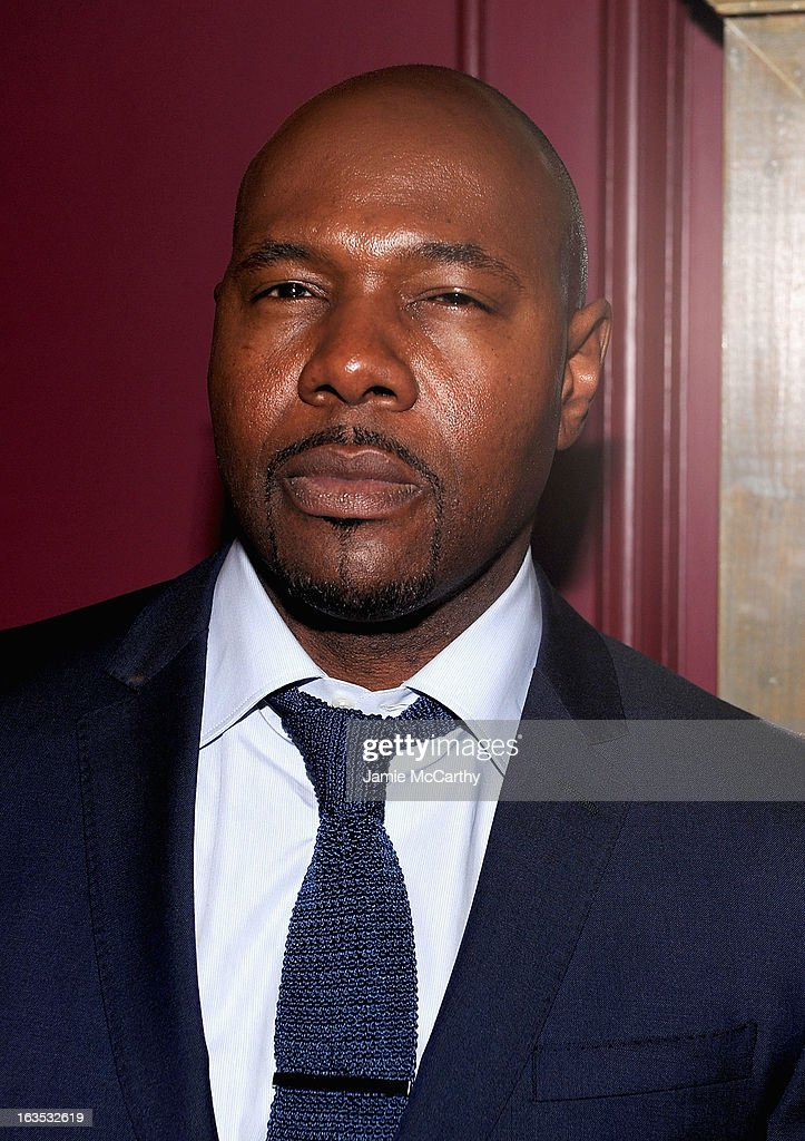 Director Antoine Fuqua attends the after party for The Cinema Society with Roger Dubuis and Grey Goose screening of FilmDistrict's 'Olympus Has Fallen' at The Darby on March 11, 2013 in New York City.