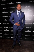 Director Antoine Fuqua attends The Cinema Society with Roger Dubuis and Grey Goose screening of FilmDistrict's 'Olympus Has Fallen' at Tribeca Grand...