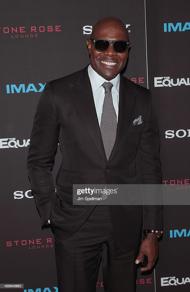 Director Antoine Fuqua attends 'The Equalizer' New York Screening at AMC Lincoln Square Theater on September 22 2014 in New York City