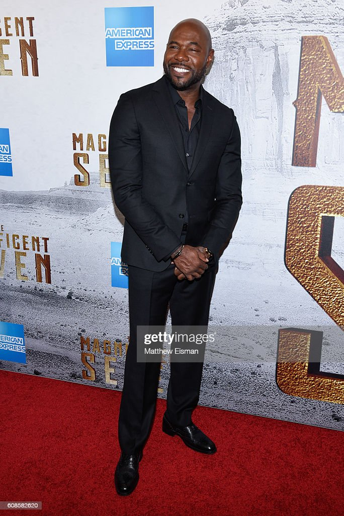 Director Antoine Fuqua attends 'The Magnificent Seven' New York Premiere at the Museum of Modern Art on September 19, 2016 in New York City.