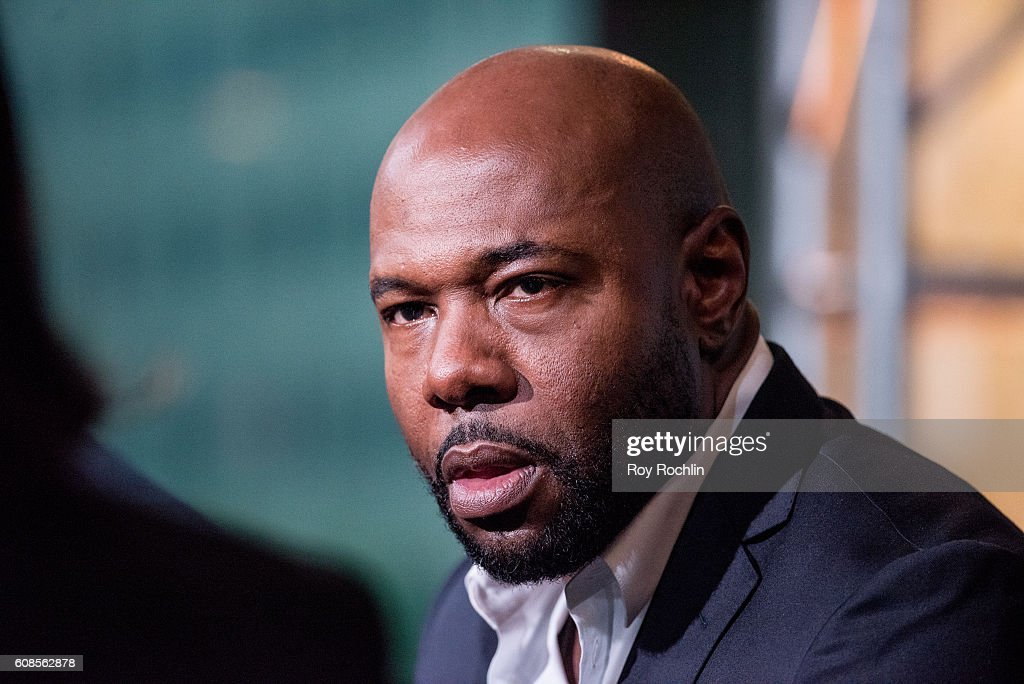Director Antoine Fuqua discusses 'The Magnificent Seven' during AOL Build at AOL HQ on September 19, 2016 in New York City.