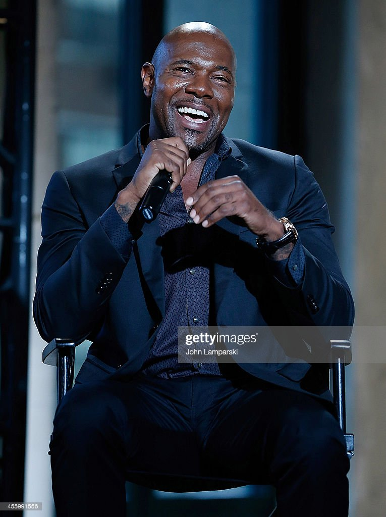 Director Antoine Fuqua speaks at AOL's BUILD Speaker Series 'The Equalizer' at AOL Studios In New York on September 23 2014 in New York City