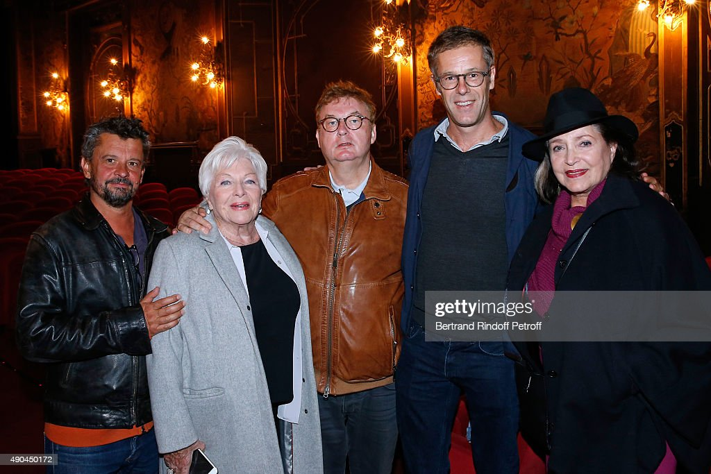 COVERAGE Director Antoine Garceau Actress Line Renaud Producer Dominique Besnehard CoProducer Harold Valentin and Actress Francoise Fabian attend the...