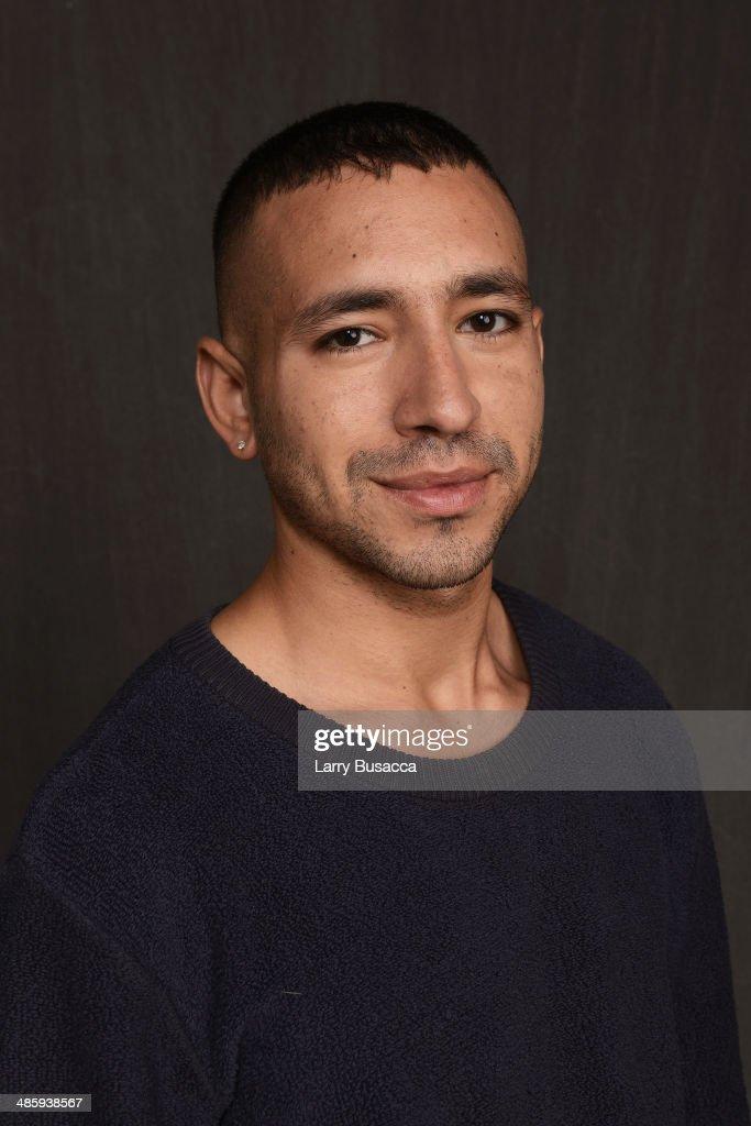 Director Antonio Santini from 'Mala Mala' poses for the Tribeca Film Festival Getty Images Studio on April 21, 2014 in New York City.