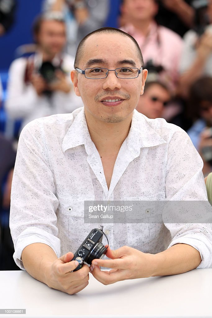 Director Apichatpong Weerasethakul attends the 'Uncle Boonmee Who Can Recall His Past Lives' Photocall at the Palais des Festivals during the 63rd Annual Cannes Film Festival on May 21, 2010 in Cannes, France.