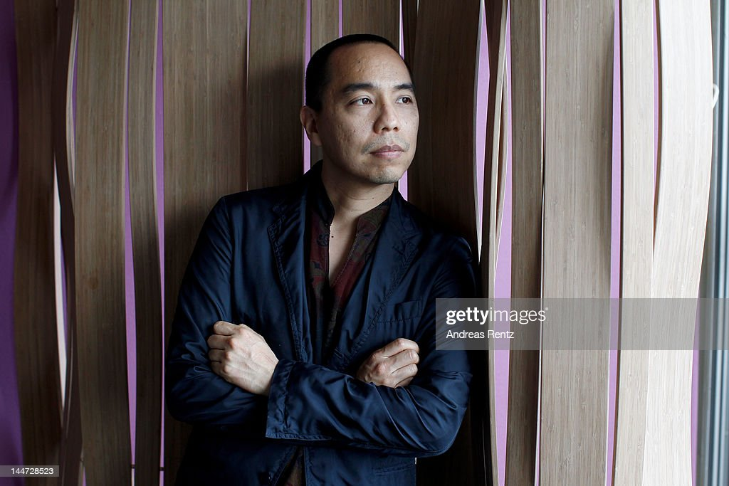 Director Apichatpong Weerasethakul seen during a portrait session at the Palais de Festivals on May 18, 2012 in Cannes, France.
