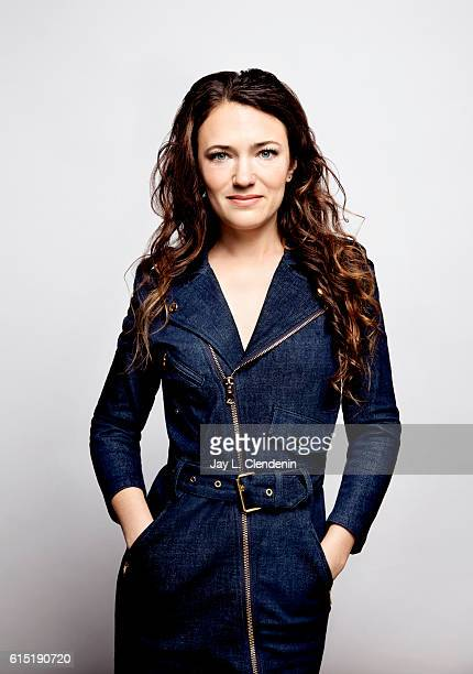 Director April Mullen from the film Below Her Mouth poses for a portraits at the Toronto International Film Festival for Los Angeles Times on...
