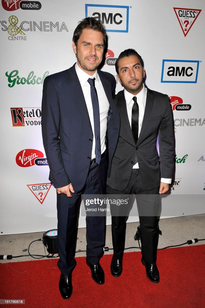Director Ariel Vromen and Actor Danny A Abeckaser attend 'The Iceman' after party during the 2012 Toronto International Film Festival at Virgin...