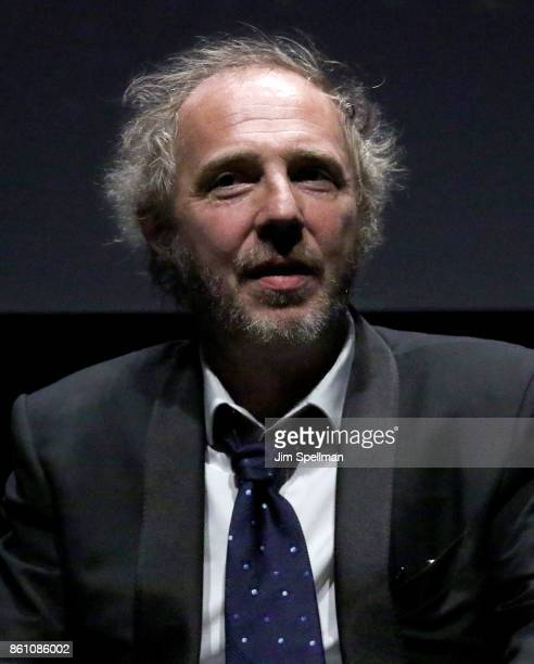 Director Arnaud Desplechin attends the 55th New York Film Festival 'Ismael's Ghosts director's cut' at Alice Tully Hall on October 13 2017 in New...