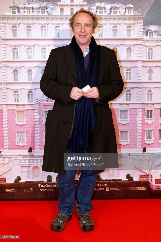 Director Arnaud Desplechin attends 'The Grand Budapest Hotel' Paris Premiere at Cinema Gaumont Opera Capucines on February 20, 2014 in Paris, France.