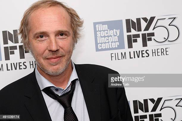 Director Arnaud Desplechin attends the 'My Golden Days' screening during the 53rd New York Film Festival at Alice Tully Hall Lincoln Center on...