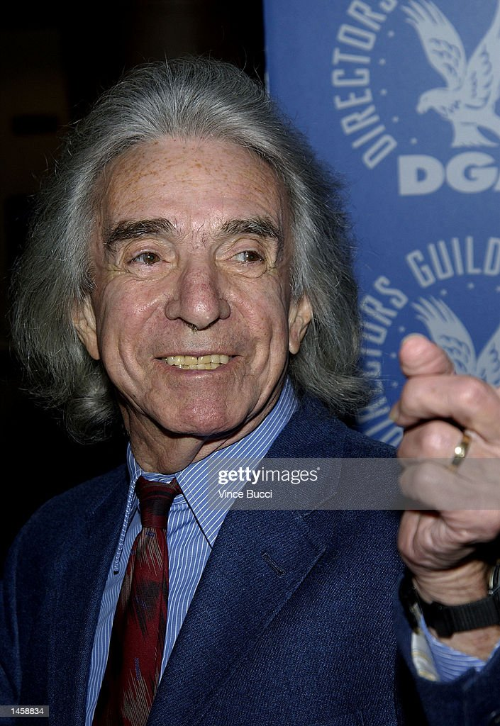 Director Arthur Hiller attends a tribute to the career of the late director George Sidney on October 3, 2002 at the Directors Guild of America in Hollywood, California.