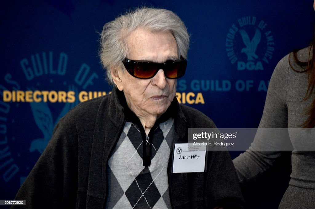 Director <a gi-track='captionPersonalityLinkClicked' href=/galleries/search?phrase=Arthur+Hiller&family=editorial&specificpeople=240527 ng-click='$event.stopPropagation()'>Arthur Hiller</a> attends the 68th Annual Directors Guild Of America Awards Feature Film Symposium at Directors Guild of America on February 6, 2016 in Los Angeles, California.