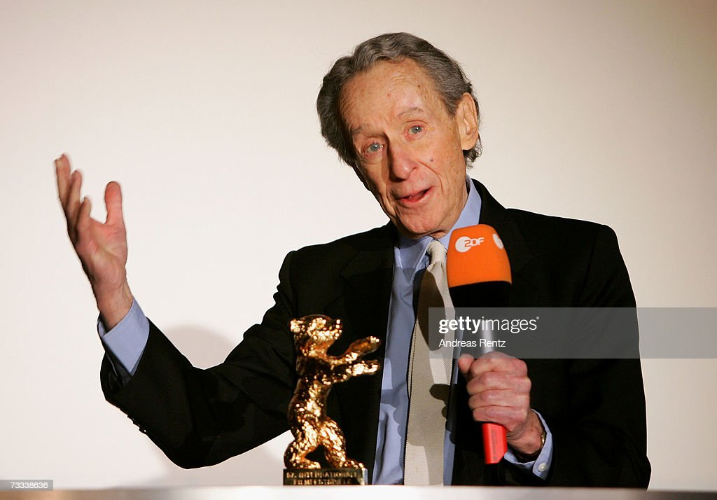 Director Arthur Penn receives the Honorary Golden Bear Lifetime Achievement Award during the 57th Berlin International Film Festival on February 15...