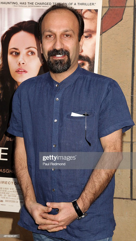 Director <a gi-track='captionPersonalityLinkClicked' href=/galleries/search?phrase=Asghar+Farhadi&family=editorial&specificpeople=5700577 ng-click='$event.stopPropagation()'>Asghar Farhadi</a> attends Golden Globe Foreign-Language nominees panel discussion and screening series at American Cinematheque's Egyptian Theatre on January 11, 2014 in Hollywood, California.